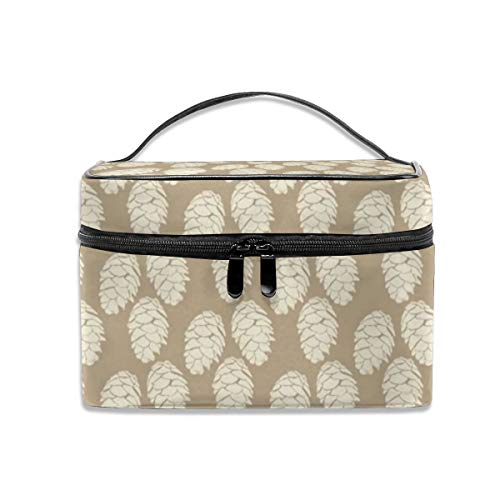 Portable Travel Toiletry Bag Organizer,16-19J Winter Pinecone Mountain Wedding Cosmetic Bags For Women Girl,Makeup Bag, Storage Bag