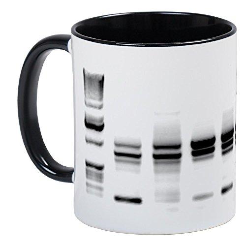 CafePress DNA Gel B/W Mug Unique Coffee Mug, Coffee Cup