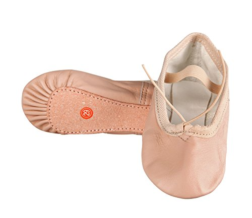 Bear Motion Child Leather Ballet Shoes Sliper (Toddler  Little Kids) (11M)