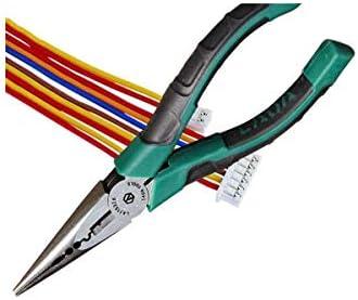 家の修理に適したプライヤーツールプライヤー、つまり屋外の産業用メンテナンスプライヤー、6インチの多機能針先プライヤーセット