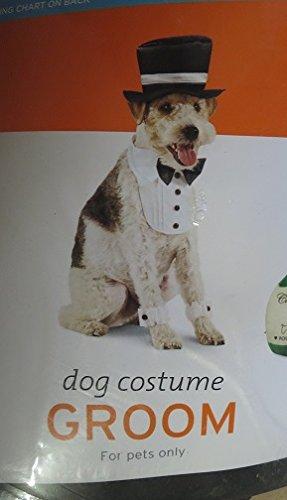 Pet Groom Halloween Costume M/L