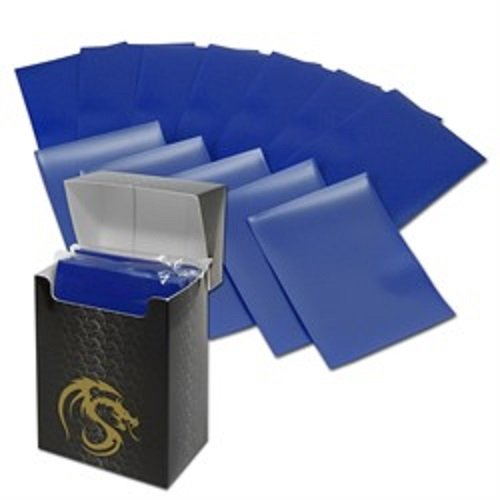 (36) Blue BCW Deck Guard Pack - Trading Card Sleeves - 80 Sleeves per Pack - BCW-DGM80-BLU