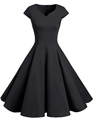 50s swing dress plus size - 5