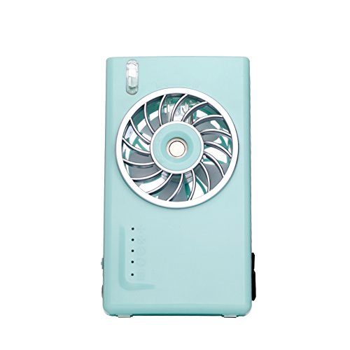 XDKTS Portable Spray Electric fan,Small air conditioner Mini Air cooler Student dorm room Office Rechargeable portable Small desktop fan-A by XDKTS