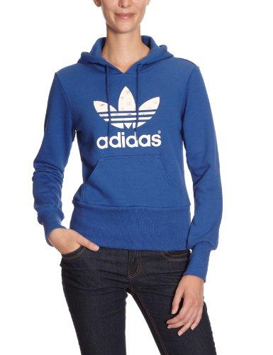 adidas - Sudadera para mujer power blue s12/shell s06 (power blue s12/shell s06)