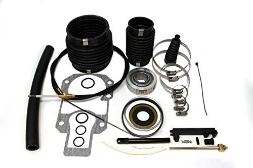 - SEI Marine Products- Compatible with Mercruiser Alpha I Gen II Bellows Kit with Shift Cable and Oil Seal