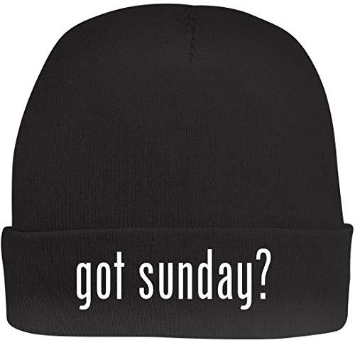 Shirt Me Up got Sunday? - A Nice Beanie Cap, Black, OSFA -