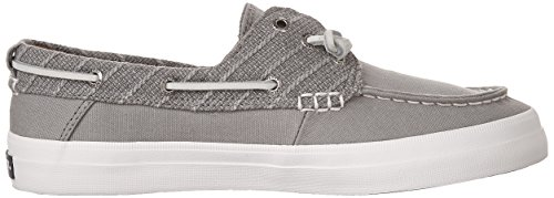Sperry Top-sider Womens Crest Resort Barca Scarpe Lino Grigio