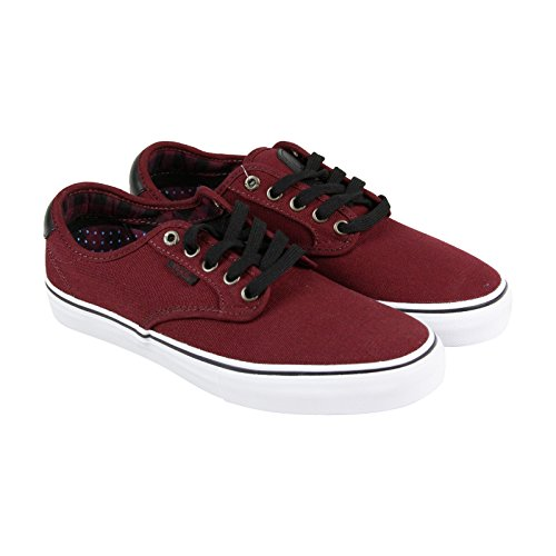 Furgoni Chima Ferguson Pro Us Mens 6 Da Donna Taglia 8 Plaid Port Red Fashion Sneakers