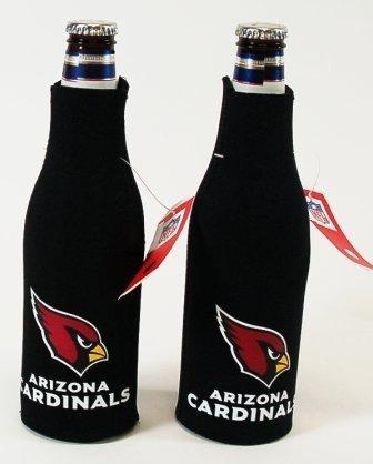 NFL Cardinals Neoprene Bottle Suits   Arizona Cardinals Beer Bottle Koozies - Set of 2 by Kolder