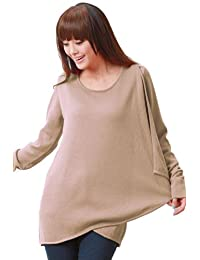 Sweet Mommy Maternity and Nursing Organic Cotton Drape Front Sweater