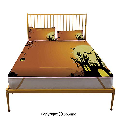 Halloween Decorations Creative King Size Summer Cool Mat,Gothic