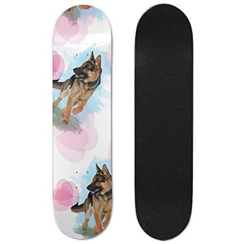 DAPANLA Maple Wood Medium Concave Skateboard Deck -