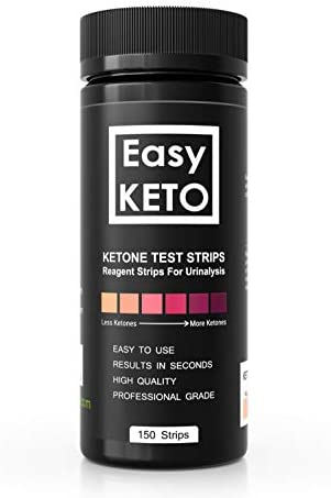 Easy Keto Ketone Testing Strips: For Urinalysis 150 High Grade Test Sticks Accurately Measure Urine Level For Ketones Perfect For Ketogenic Paleo Low Carb and Atkins Diets and Monitoring Ketosis 3