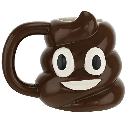 Smiley Poop Emoji Emoticon Ceramic product image