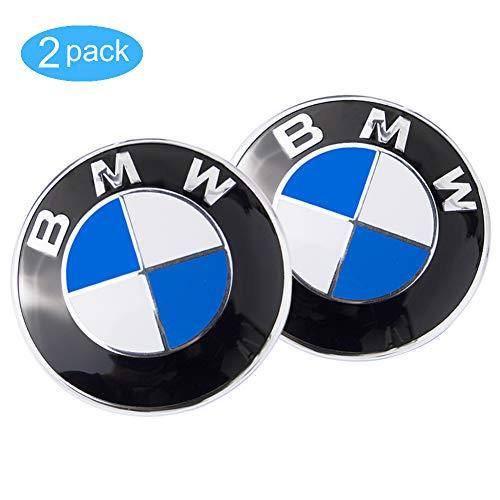 - Emblem Logo Replacement for ALL Models BMW Hood/Trunk E30 E36 E34 E60 E65 E38 X3 X5 X6 3 4 5 6 7 8 (82mm)