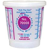 E-Z Mix 70008 1/2 Pint Disposable Mixing Cups 100/Box