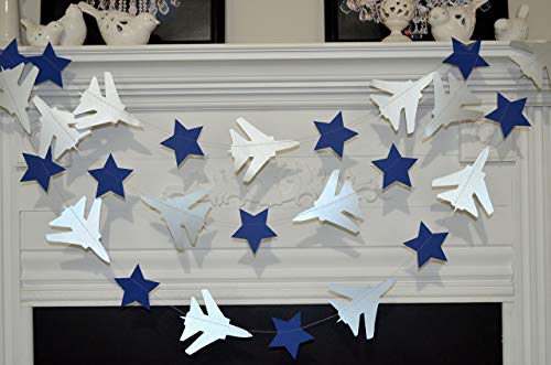 Air Force decorations, air force party decor, air force deployment party