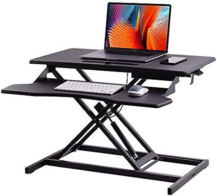 Muebles Lazy Sencilla Pequeña Tabla Escritorio Monitor Riser De ...