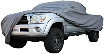 XtremeCoverPro Car Covers Ready fit for TOYOTA TACOMA DOUBLE CAB LONG BED TRUCK 2018 UV Protection Breathable Car Cover Indoor Outdoor Protection