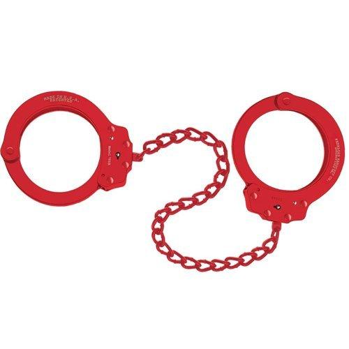Peerless Handcuff Company 755B Oversize Leg Iron, Red