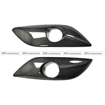 Funda de fibra de carbono para Hyundai Veloster NAV estilo luz antiniebla delantera (no Turbo): Amazon.es: Coche y moto