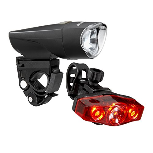 Kryptonite Comet F500 Front LED Bicycle Headlight Meteor R300 Rear LED Bicycle Indicator Light