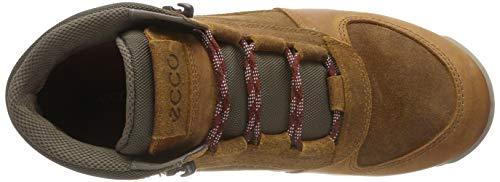 Uomo Oregon Marrone Collo Alto Ecco 51123 A brick Sneaker dzxXCa6qgw