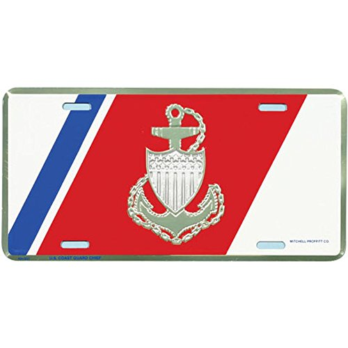 - Honor Country USCG Chief License Plate