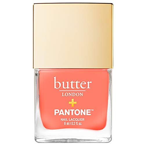 butter LONDON Living Coral Patent Shine 10x Nail Lacquer, Living Coral ()