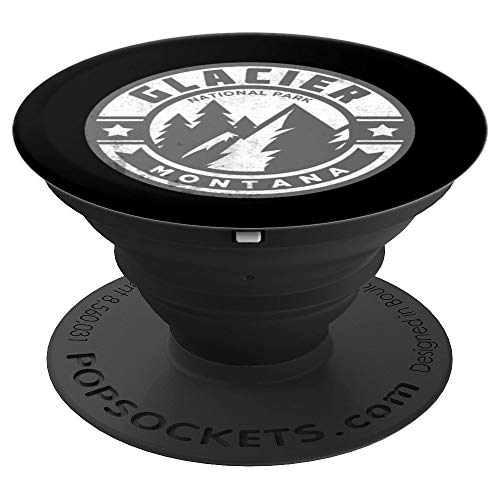 Glacier National Park Montana - PopSockets Grip and Stand for Phones and Tablets