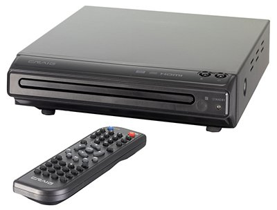 Craig CVD401a Compact DVD Player with HDMI