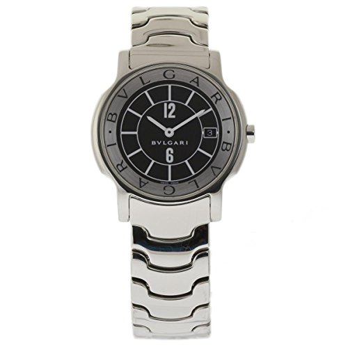 Bvlgari Solotempo swiss-quartz unisex-child Watch ST35S (Certified Pre-owned)