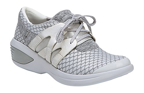 BZees Women's Flicker Sneaker Grey