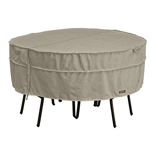 Classic Accessories Montlake Round Patio Table & Chair Set Cover, Medium