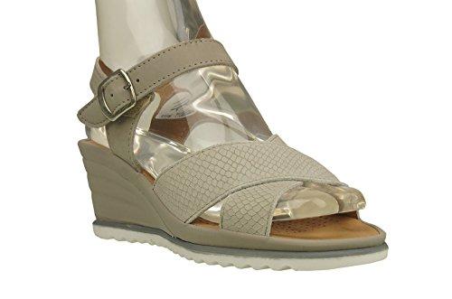 Comfortabel Damen Sandale Beige