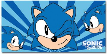 GE Sonic the Hedgehog: Classic Sonic Towel