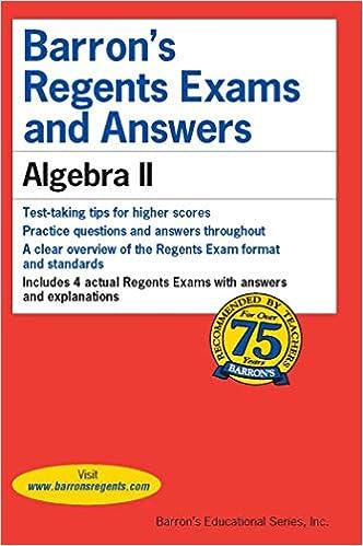 august 2018 algebra 2 regents answers
