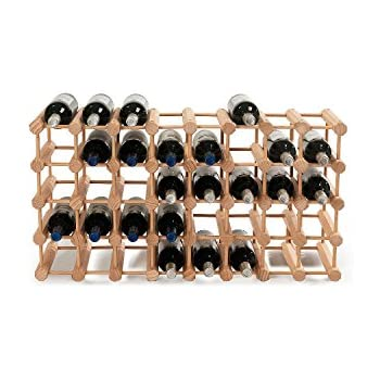 Modular 40 Bottle Wine Rack -Natural