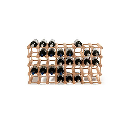 Modular 40 Bottle Wine Rack -Natural