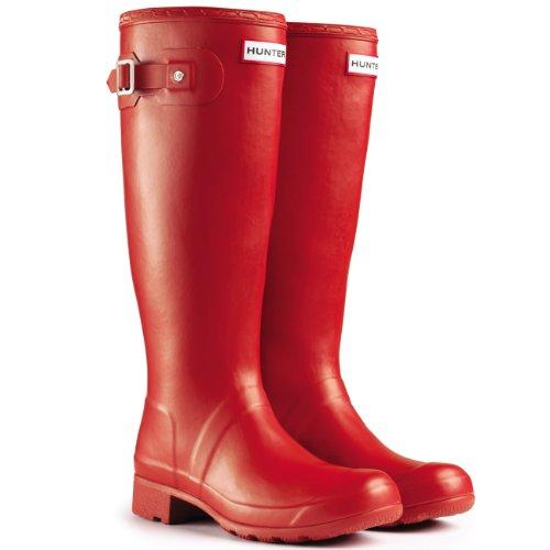 Cacciatore Neve Impermeabile Gomma Pioggia Winter Stivali Rosso Di Originale Tour Womens 1qfdgwg