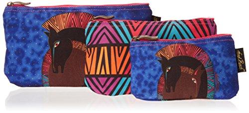 - Laurel Burch Cosmetic Bag, Embracing Horses, Set of 3