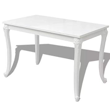 Fijo Night rectangular mesa comedor mesa de comedor cocina ...