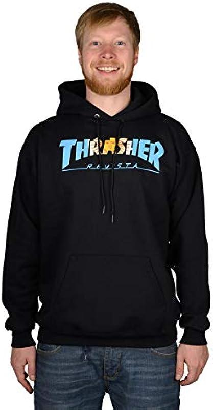 Thrasher Argentina Hoodie męska bluza z kapturem: Odzież