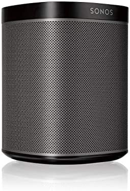 Sonos Play 1 Compact Wireless Speaker for Streaming Music. Compatible with Alexa. Black Renewed