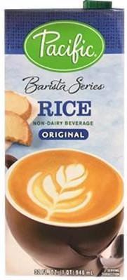 Pacific Foods Rice Barista Series Non-Dairy Beverage, 32 oz (12 pack)