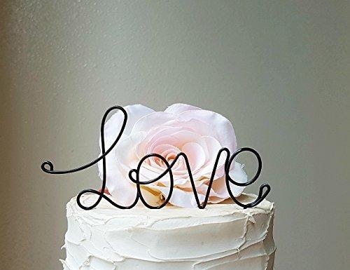 LOVE-Black-Wedding-Cake-Topper-Wedding-Cake-Decoration-Engagement-Decoration-Anniversary-Cake-Topper-Bridal-Shower-Decoration