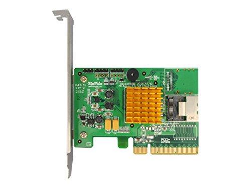 HighPoint RocketRAID 2710 4-Port SAS 6Gb/s PCIe 2.0 x8 RAID HBA by High Point