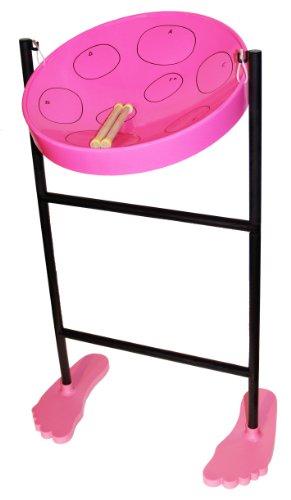 Jumbie Jam Steel Drum Musical Instrument, Pink by Panyard