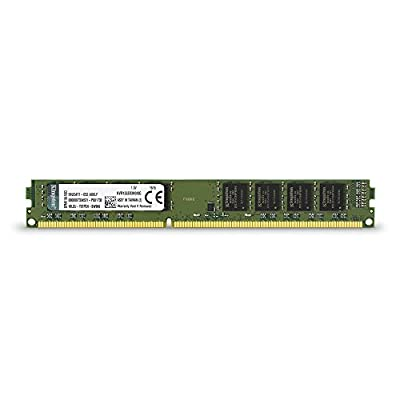 Kingston Technology ValueRAM 8GB 1333MHz DDR3 Non-ECC CL9 DIMM Desktop Memory 8 (PC3 10600) KVR1333D3N9/8G